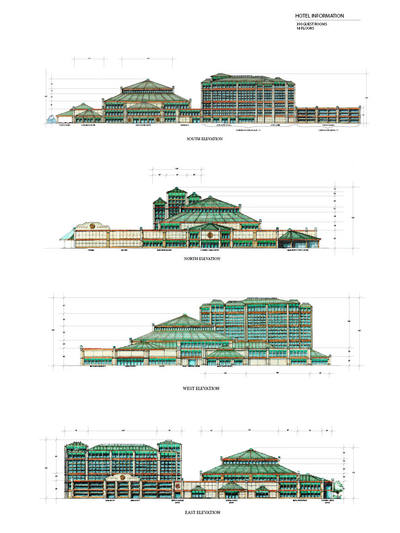 Copper Canyon Casino Elevations