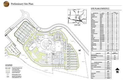 Copper Canyon Casino Preliminary Site Plan