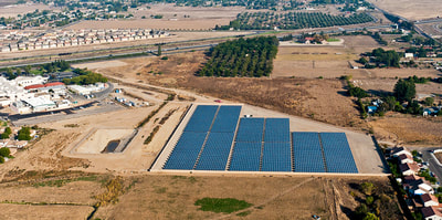 Schindler-West end site 30 Solar Farm -  Madera Community Hospital Solar Electric Farm